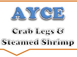 Crab Legs & Steamed Shrimp